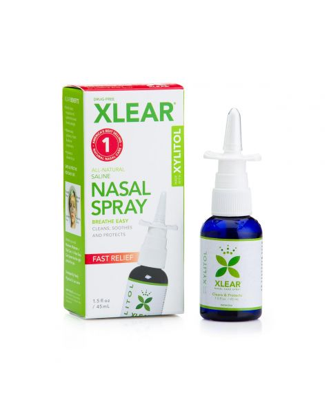 Xlear Sinus Pump-Mist Nasal Spray with Xylitol 1.5oz