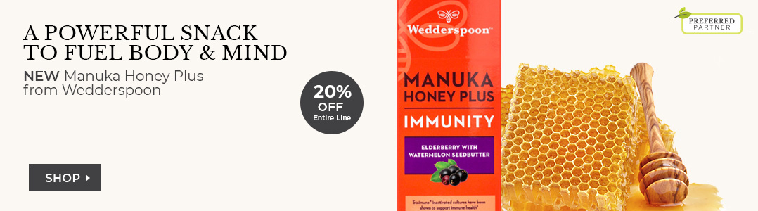 Wedderspoon Manuka Honey Plus