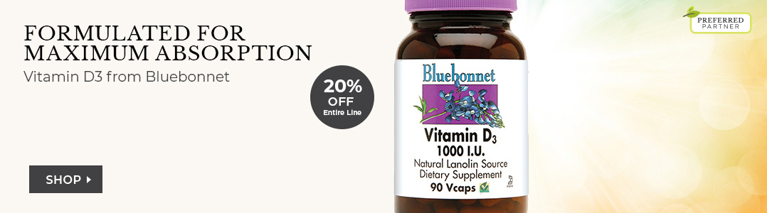 Bluebonnet Vitamin D3