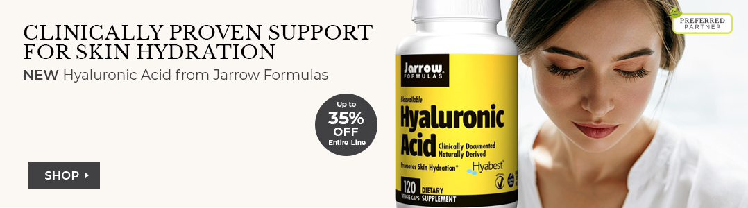 Hyaluronic Acid from Jarrow Formulas. Up to 35% off entire line.