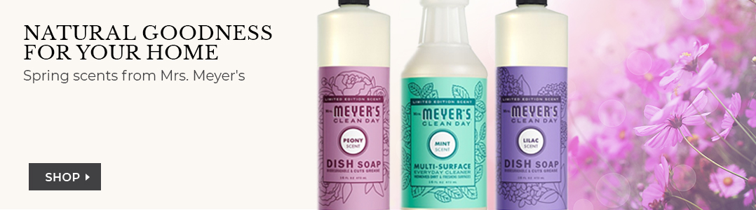 Shop Spring scents from Mrs. Meyer's