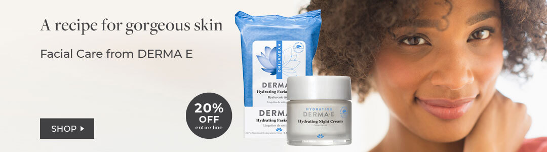 Shop Derma E - 20% off entire line
