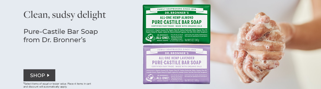 Dr. Bronners bar soaps