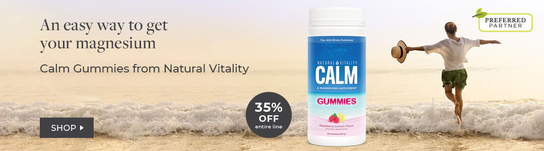 Shop Natural Vitality 20% off Calm Gummies