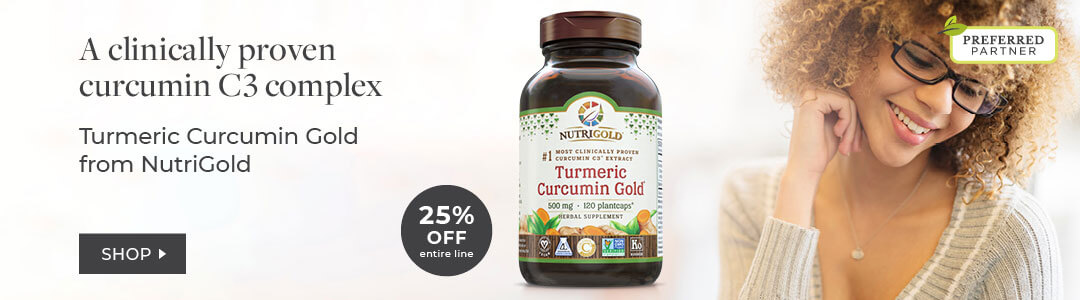 Shop Turmeric from NUTRIGOLD