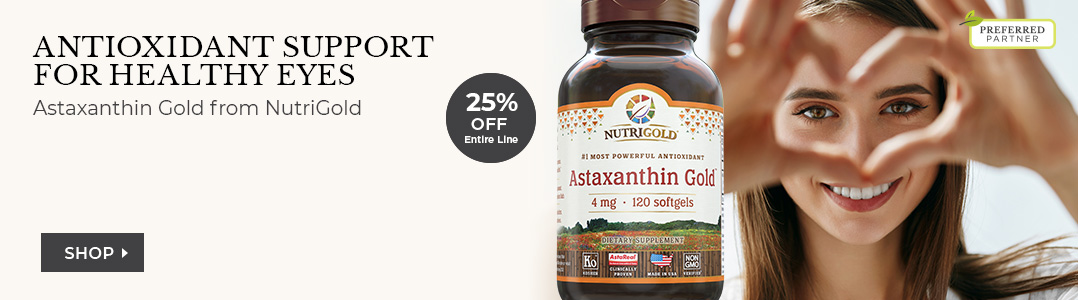 Antioxidant support for healthy eyes 