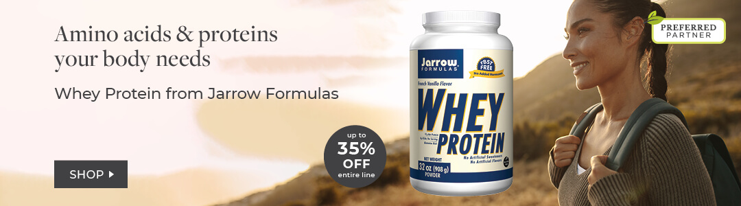 Shop Jarrow Formula Whey Protein - Unflavored