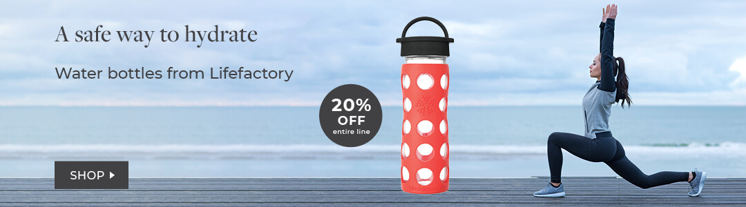 Shop LifeFactory Water Bottle
