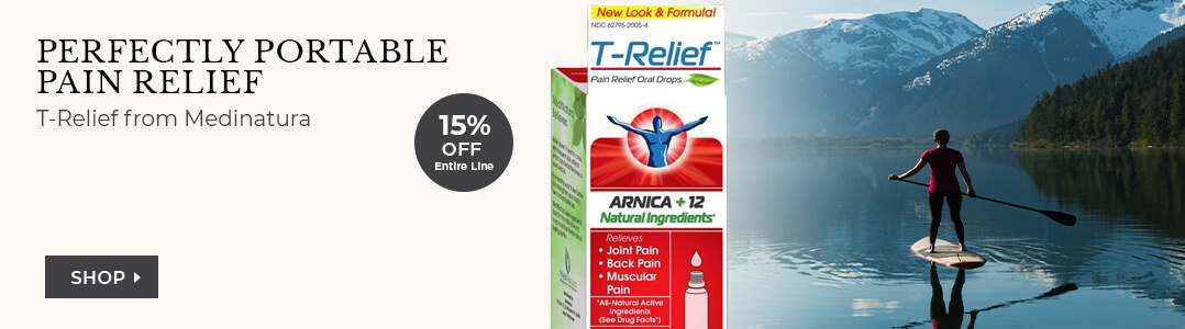 MEDINATURA - T Relief - 15% off entire line