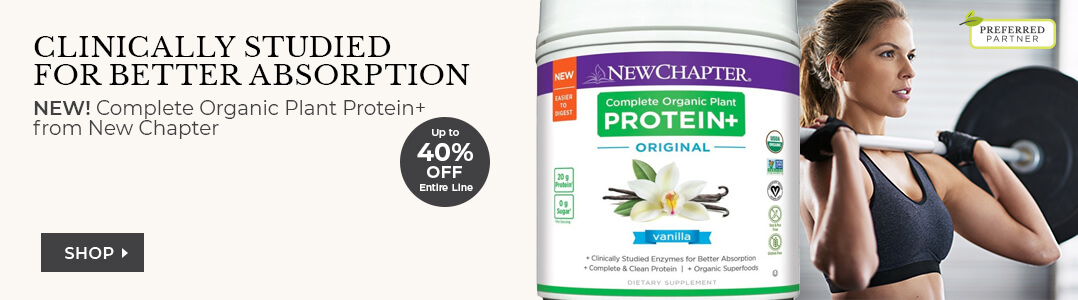 Shop New Chapter - 30% Off Organic Protein