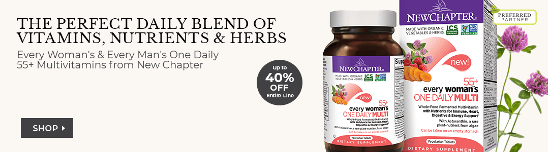 Shop New Chapter The perfect daily blend of vitamins, nutrients & herbs