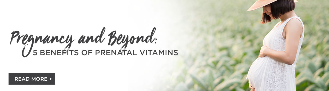 Benefits of prenatal vitamins - read about it on our blog