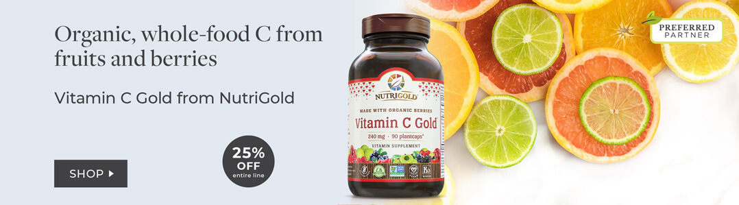 25% off entire line nutrigold vitamin C