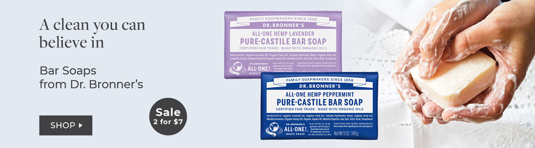 Dr Bronner's 20% Off Entire line