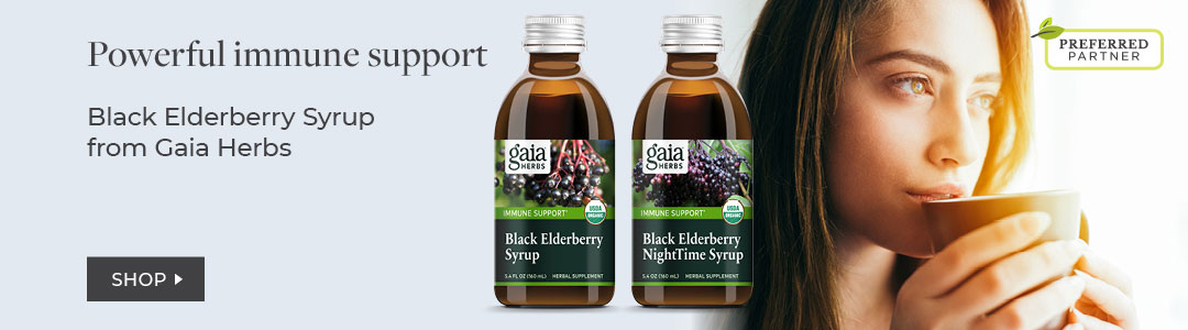 Shop Gaia Herbs - 35% off elderberry