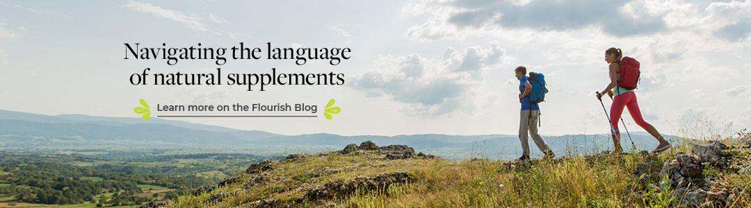 Read on our blog - The language of natural supplements