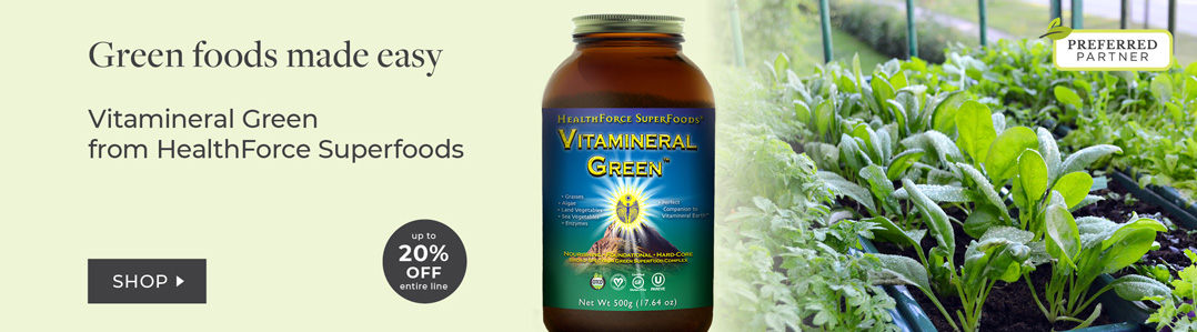 Shop Healthforce Superfoods Save 20% off Vitamineral Green