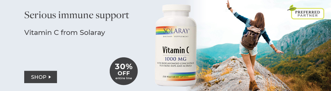 Shop Vitamin C from Solaray - 30% Off