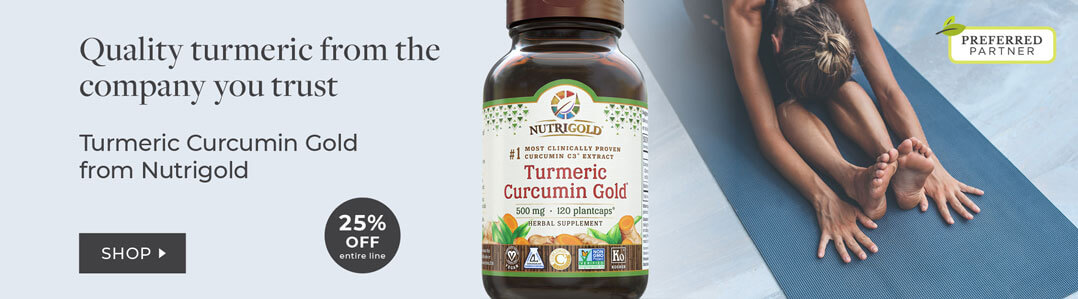 25% off entire line nutrigold Turmeric