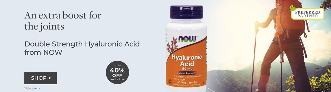 NOW Joint Care Hyaluronic Acid