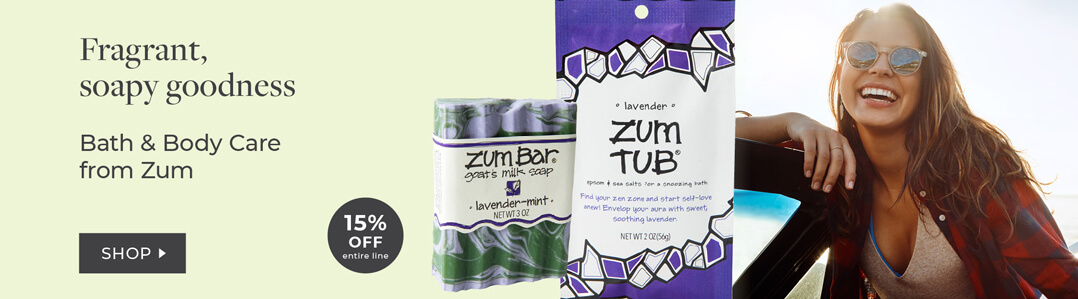 NEW ZUM! Body wash and care