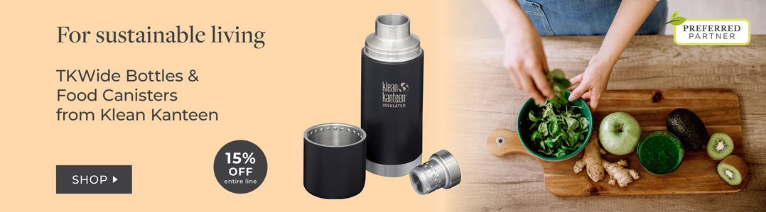 Klean Kanteen 15% New TK WIde Bottles