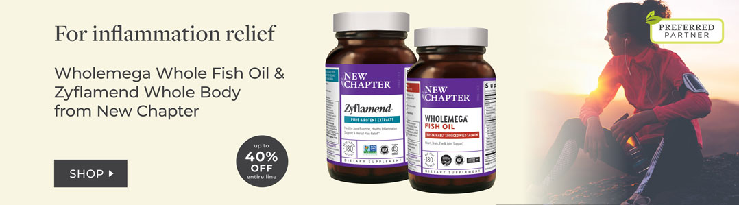 New Chapter Inflammation Support 40% Off entire line