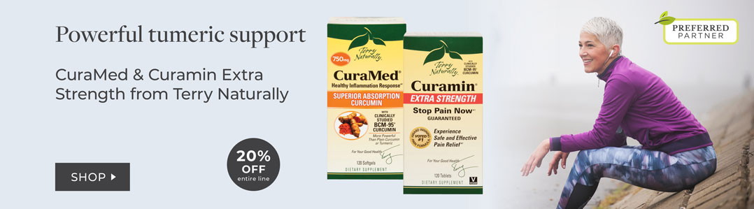 Terry Naturally - 20% Off Curamed and Curamin