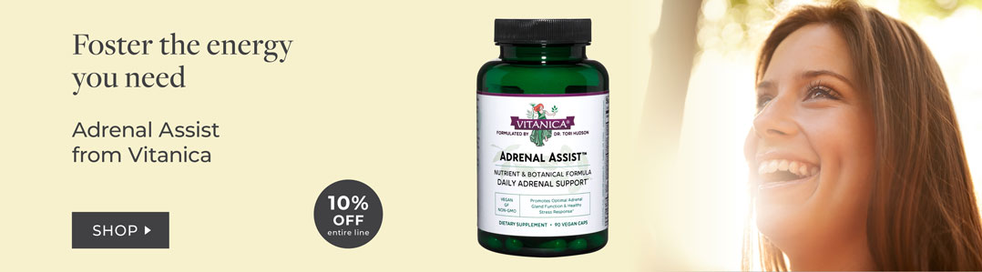 Shop Vitanica 10% Off Adrenal Support