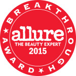 Allure Beauty Breakthrough Award Badge