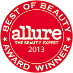 Allure Best of Beauty Award Badge