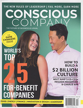 Dr. Bronner's in Conscious Company Magazine