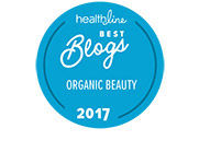 Healthline Best Beauty Blogs Awards Badge