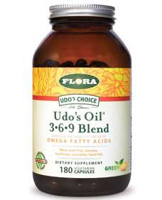 Udo's Choice products by Flora