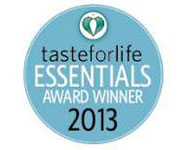 Taste for Life Award Badge