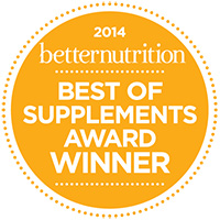 Hero Nutritionals Better Nutrition 2014 Award Winner