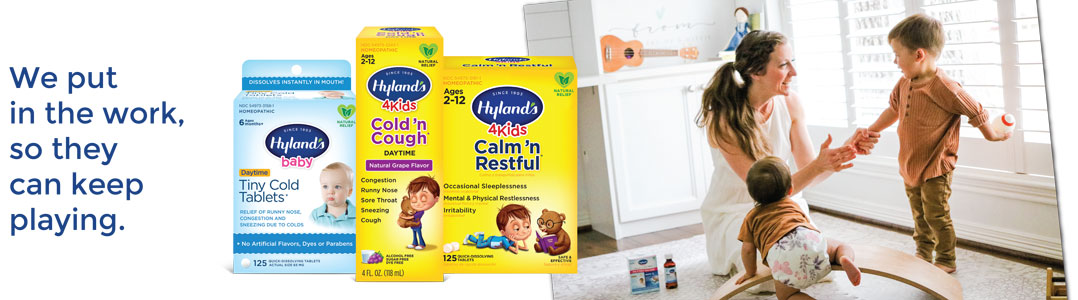 Hylands Brand Page