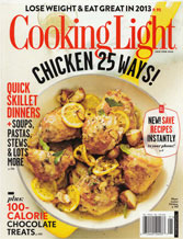Jane Iredale Cooking Light Press Cover