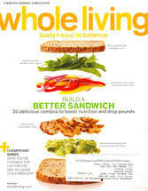 Whole Living Magazine Cover