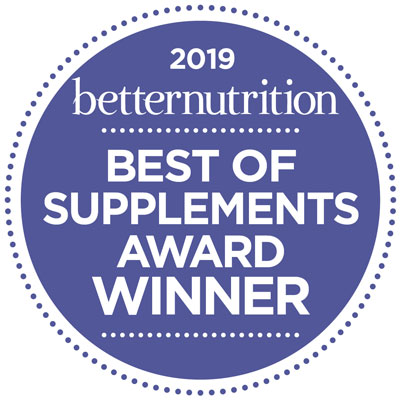 Lily of the Desert wins Betternutrition's 2019 Best of Supplements Award