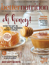 MyChelle in Better Nutrition Magazine