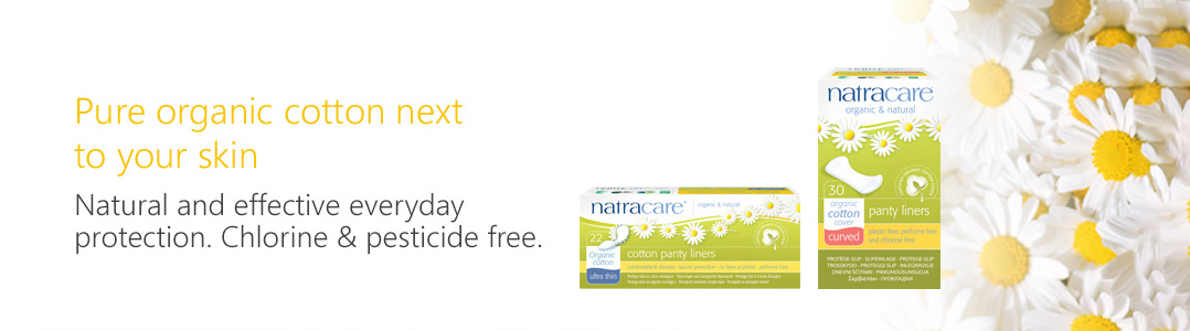 Natracare pure organic cotton