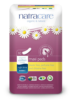 About Natracare Maxi Pads