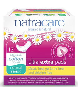 About Natracare Ultra Extra Sanitary Pads