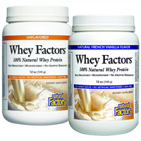 Natural Factors Whey Factors