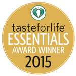 Taste for Life Awards Badge