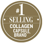 Best Selling Collagen Capsule Brand Awards Badge