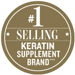 Best Selling Keratin Supplement Award Badge