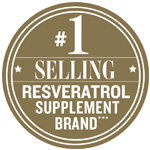 Best Selling Resveratrol Supplement Award Badge
