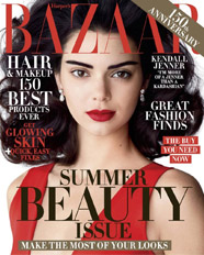 RMS Beauty in harpers bazaar Magazine